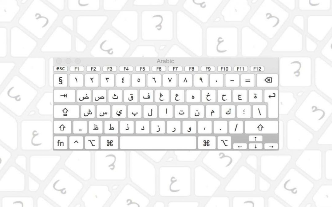 Adding an Arabic Keyboard to Mac OS