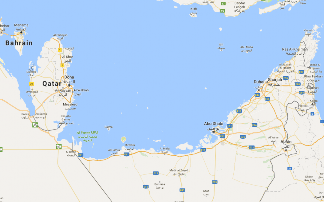 Learning Arabic with the Help of a Map