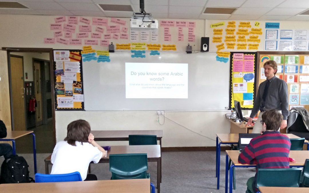 Arabic in UK schools – Trialling at CFGS Devon