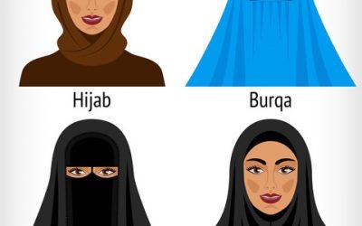 From Hijab to Burqa
