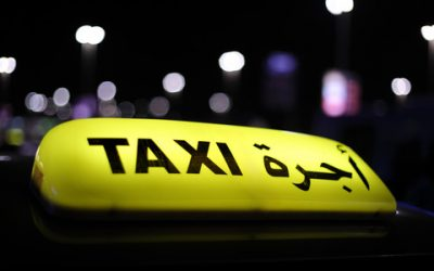 Negotiating a taxi fare in Arab countries