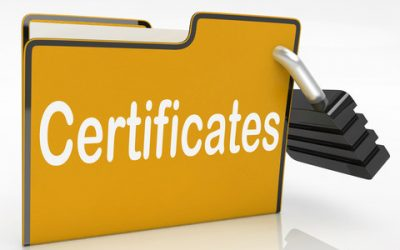 Tests, Certificates and digital badges in Arabic