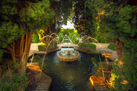 The Alhambra – the Arab poets' ideal of an earthly Paradise